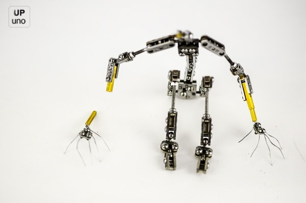 Stop motion armature Hand replacement