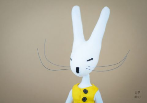The Rabbit: Bespoke Stop Motion Puppet