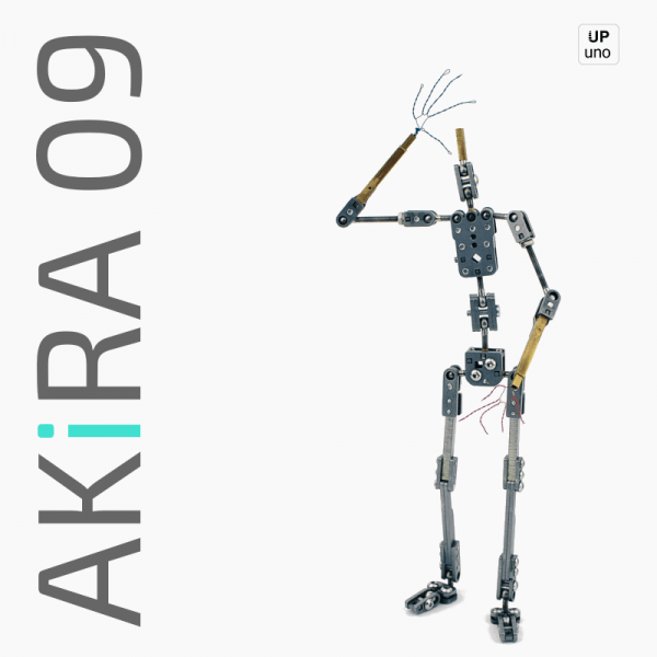 Akira 09 Stop motion ready made armature