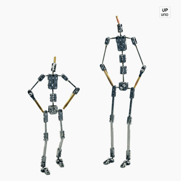 Akira 09 and 12 Stop motion ready made armature