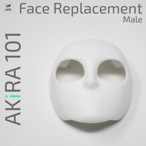 Akira 101 Face Replacement Male