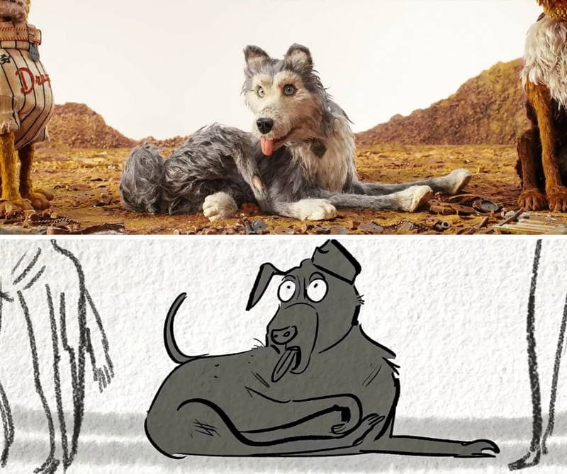 Isle of Dogs - Story board - puppet