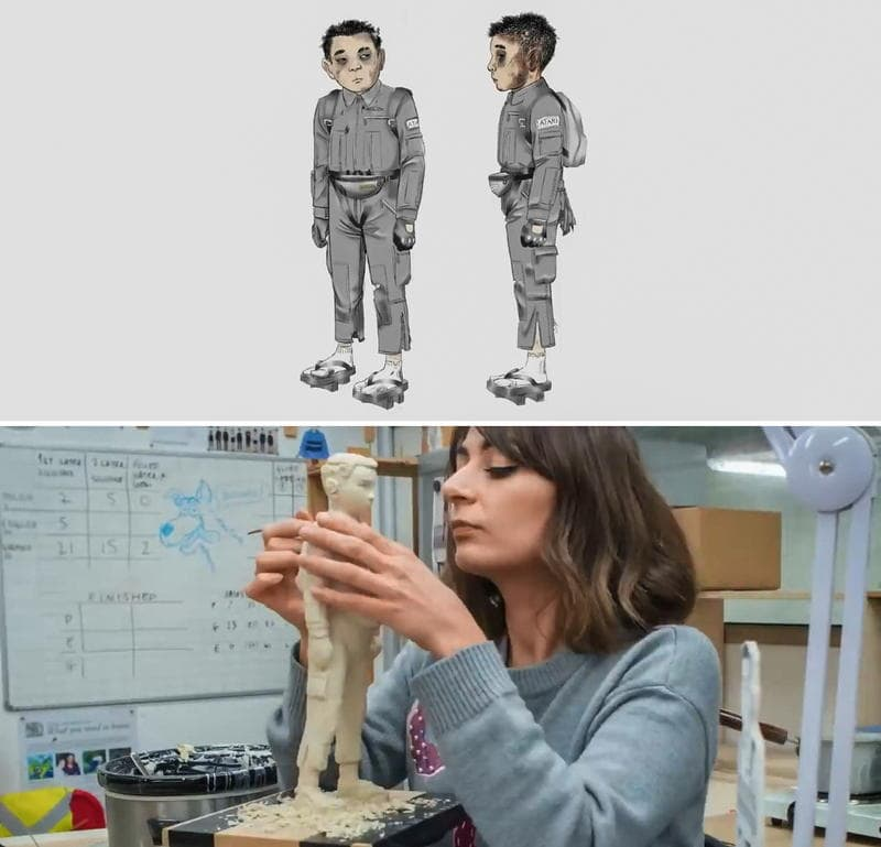 Isle of Dogs - Puppet sculpt