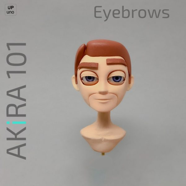 Akira 101 Eyebrows with painted head