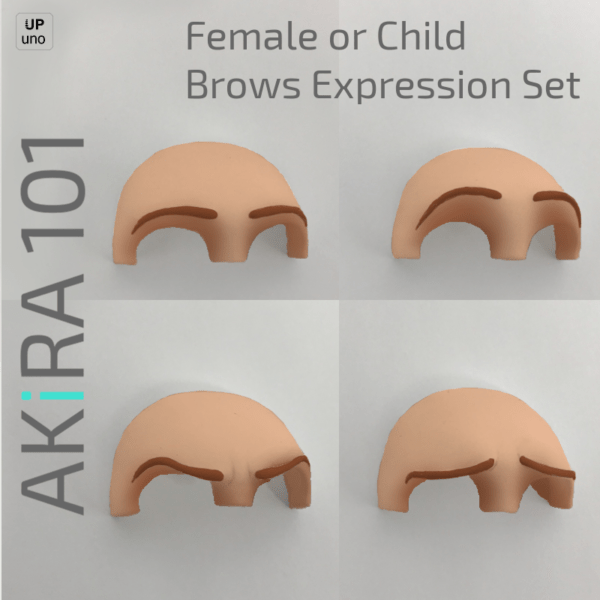 Akira 101 Female/Kid Brows Expressions