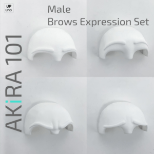 Akira 101 Male Brows Expressions
